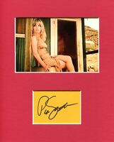 Pia Zadora Butterfly Voyage of the Rock Aliens Signed Autograph Photo Display