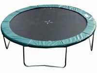 14ft Round Trampoline Pad Trampolining Replacement Jump Bounce Exercise Green