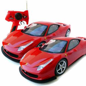 x2 1:10 Ferrari 458 Italia RC Radio Remote Control Battery Vehicle Model Car Toy