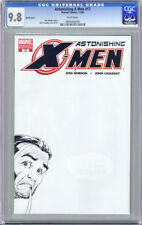 ASTONISHING X-MEN #17 SKETCH COVER FIRST WHITE PAGES CGC 9.8 NM/MT UNSCRATCHED