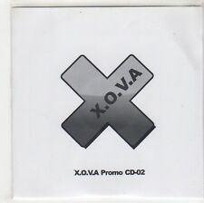 (GF948) X.O.V.A , Knife Crime City promo CD-02, 5 tracks - 2012 DJ CD
