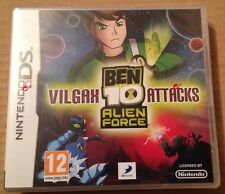 Ben 10 Alien Force Vilgax Attacks Game Ds Dsi Ds Lite 3Ds Nintendo NEW & SEALED!