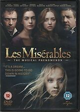Les Miserables 2 Disc Special Edition DVD Russell Crowe UK Release New Sealed R2