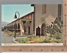 1970s USED POST CARD MISSION SANTA INES AT SOLVANG CA