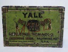 Vintage Yale Mixture XXX Smoking Tobacco Marburg Bros. Tin