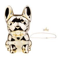 Little Dog Piggy Bank Money Box Saving Pot Gifts Home Decoration Golden