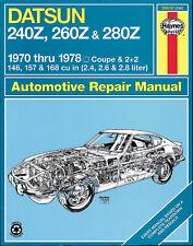 Repair Manual Haynes 28012 fits 75-78 Nissan 280Z