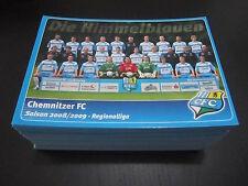 29179 Mannschaftsbild 08-09 Chemnitzer FC CFC Autrogrammkarte