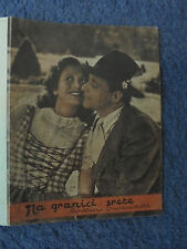DER KLEINE GRENZVERKEHR WILLY FRITSCH 1943 EXYU MOVIE PROGRAM - RARE (KL1)