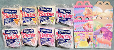 1991 McDonald's Happy Meal Toys -  BARBIE  - Mint Set (8) + 2 Bags  cake toppers