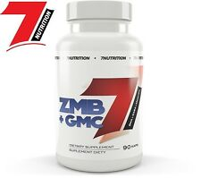 7Nutrition ZMB + GMC 90caps. ZMA GABA Melatonin NAC Vit.E - Free Shipping !