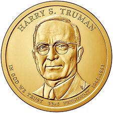 2015P $1 Harry S. Truman - 33rd U.S. President -  BU