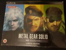 METAL GEAR SOLID HD COLLECTION LIMITED EDITION  ZAVVI - PS3 - NEUF / BRAND NEW