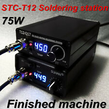 2017 Quick Heating T12 STC Digital Soldering station Electronic welding Iron