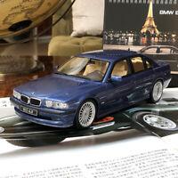 OTTOMOBILE 1:18 Scale BMW Alpina B12 6.0 E38 Blue Limited Car Model Collection