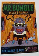MR BUNGLE Fillmore Poster MELT BANANA BGF204 ORIGINAL Bill Graham Mara Stromberg