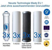 Filterset 9 Zoll Ultimate PLUS Osmoseanlagen EUROPE PRO Modelle nach Mai 2012