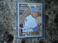 1967 TOPPS BILLY WILLIAMS CHICAGO CUBS #315 NICE