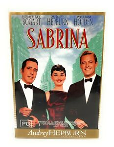 Sabrina (DVD, 1954) Audrey Hepburn Region 4 Free Postage