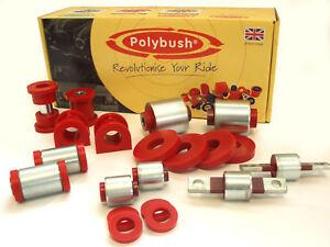 Polybush Vehicle Bush Set for Mitsubishi Evolution EVO 7 8 9, 2001-2008: Kit85