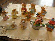 Lot of 11 Enesco Lucy & Me Bears~Spring Holiday~Gardening~Spring Motif