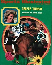 RON TURCOTTE SIGNED SPORTS ILLUSTRATED TRIPLE CROWN 8X10 SECRETARIAT
