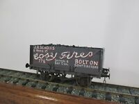 7mm O Gauge Kit Built Open Wagon Cosy Fires Bolton / North Tyne Mines