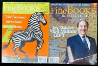 Fine Books and Collections Magazine - Lot Of 2 - Winter 2006 2008