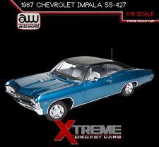 AUTOWORLD AMM1083 1:18 1967 CHEVROLET IMPALA SS-427