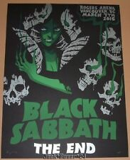 Black Sabbath Becky Cloonan Vancouver Poster Signed Numbered The End Print AP