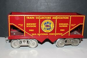 1980 TCA 26th National Convention McCoy Standard WIDE  Gauge HOPPER Car with Box