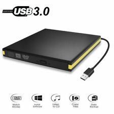 USB 3.0 External DVD Drive Portable Player External CD Burner Reader Writer