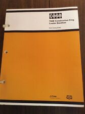 Original CASE 780B Backhoe Loader Tractor Parts Manual Catalog Book