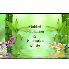 Relief Of Stress & Anxiety Guided Meditation & Ultimate Relaxation Music CD Heal