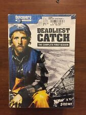 Deadliest Catch - Season One (DVD, 2007, 5-Disc Set) NEW Factory Sealed