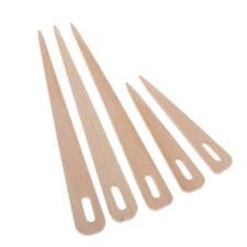 5x Hand Loom Wood Wooden Shuttle Knitting Weaving Tool Developmental Toy