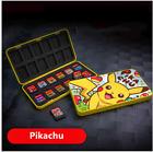 Pokemon Pikachu Nintendo Switch Game Card Case Holder Storage Portable 24 in 1