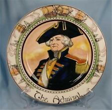 Royal Doulton The Admiral Plate Collector Professionals Ships Ocean D6278 O)