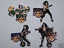KISS Hard Rock Cafe Pin Group FRAY LE 200 2006 SET