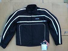 "FIGO Mens Textile Waterproof Motorbike / Motorcycle Jacket UK 38"" Chest (H117)"
