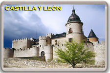CASTILLA Y LEON SPAIN FRIDGE MAGNET SOUVENIR IMAN NEVERA