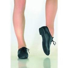 Theatricals J001B Size 3M (fits child 13.5) Black Split Sole Lace up Jazz Shoe