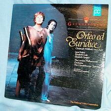 LD laserdisc ORFEO ED EURIDICE von Gluck Opera