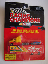 RACING CHAMPIONS 1:144 SCALE DIE CAST REPLICA KELLOGGS RACING TRACTOR TRAILER