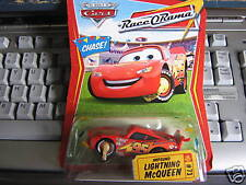 "DISNEY PIXAR CARS CHASE IMPOUND MCQUEEN "" RACE ORAMA """