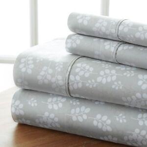 Hotel Collection Ultra Luxury Wheat Pattern 4 Piece Bed Sheet Set by iEnjoy
