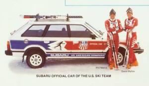 Gen 2 (1979-1984) Subaru Wagon US Ski Team Graphics