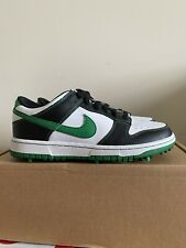 New Nike Dunk Low NG Golf Size 8 'White Court Green' 484294-100 RARE