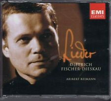FISCHER-DIESKAU 3 CDs SET(SEALED) LIEDER ARIBERT REINMANN HERMANN REUTER
