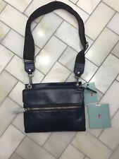 8b7d19b5d3 NWT Hobo International Ashton Leather Crossbody Bag Royal Navy Blue Brown   168
